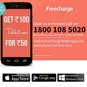 Freecharge coupons for mobile recharge november 2018